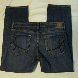 !It Jeans Straight Leg Cropped Size 27